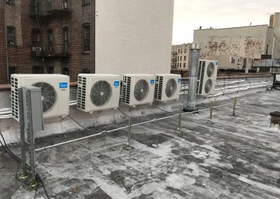 Ductless unit